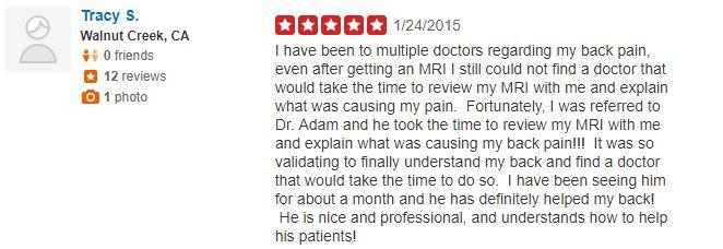 Benjamin Chiropractic Patient Testimonial